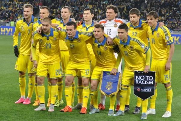 Сборная Украины сыграла вничью сИсландией