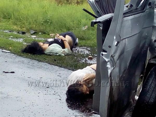 Две пассажирки погибли вДТП под Славянском