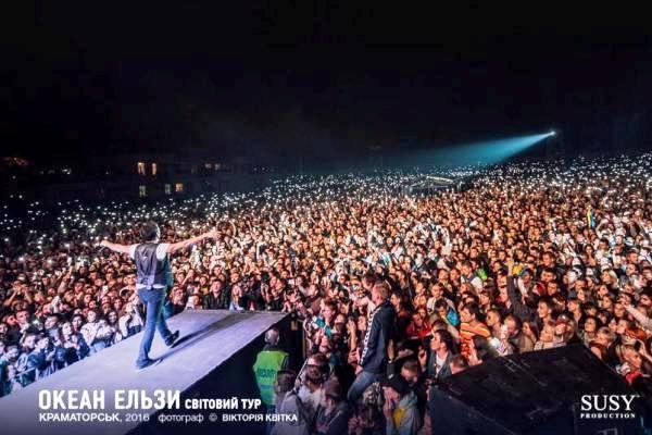 «Океан Эльзы» собрал 50 тысяч наблюдателей вКраматорске