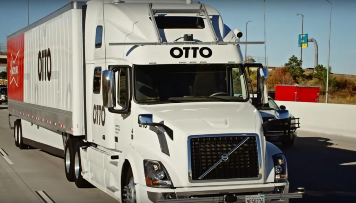 Беспилотный грузовой автомобиль Otto совершил первую коммерческую транспортировку