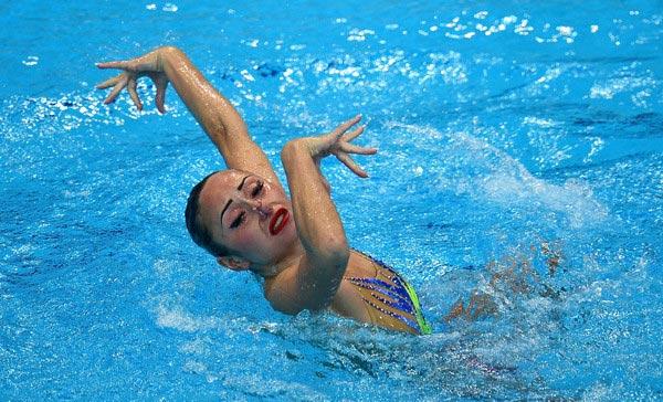 Харьковчанка выиграла «золото» наэтапе мировой серии посинхронному плаванию